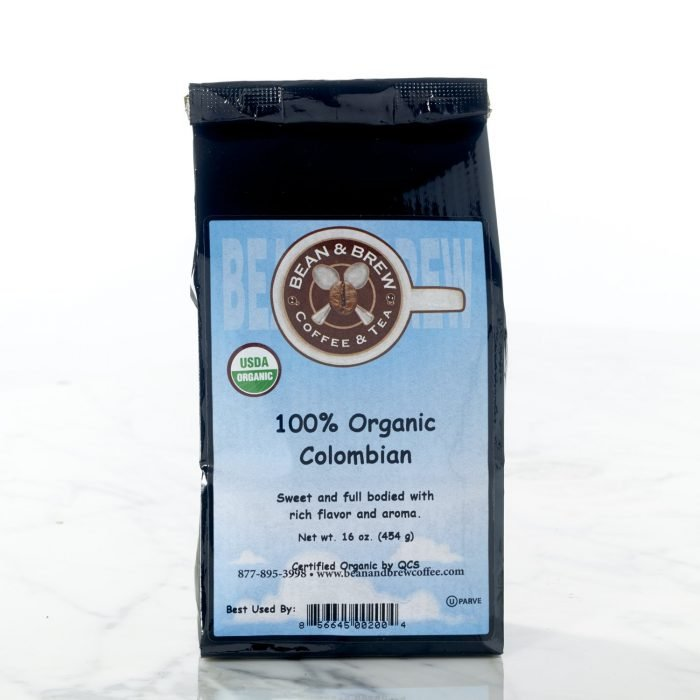 Organic Coffee Columbia
