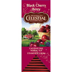 celestial black cherry berry tea