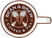 Bean & Brew Coffee and Tea Logo