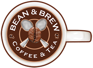 Bean & Brew Coffee & Tea Logo
